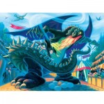 Puzzle  New-York-Puzzle-HP1371 XXL Pieces - Hungarian Horntail