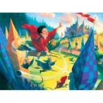 Puzzle  New-York-Puzzle-HP1611 XXL Pieces - Harry Potter - Quidditch