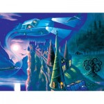 Puzzle  New-York-Puzzle-HP1710 XXL Pieces - Harry Potter - Journey to Hogwarts