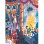 Puzzle  New-York-Puzzle-HP1718 Harry Potter - Christmas at Hogwarts