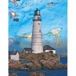 Puzzle  New-York-Puzzle-NG1853 Boston Islands Mini
