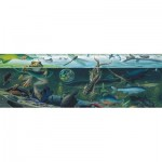 Puzzle  New-York-Puzzle-NG1982 XXL Pieces - Freshwater Ecosystem