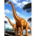 Puzzle  New-York-Puzzle-NG2071 XXL Pieces - Brachiosaurus
