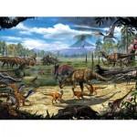 Puzzle  New-York-Puzzle-NG2073 XXL Pieces - Dinosaur Shore