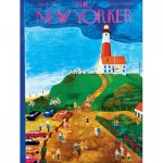 Puzzle  New-York-Puzzle-NY023 XXL Pieces - The Lighthouse