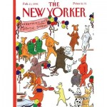 Puzzle  New-York-Puzzle-NY027 XXL Pieces - The New Yorker - Best in Show