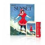 Puzzle  New-York-Puzzle-SU2010 Sunset - Surfer Girl Mini