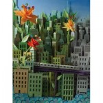 Puzzle  New-York-Puzzle-SW2014 XXL Pieces - Transit Posters - Smarter Greener Better