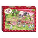 Puzzle  Noris-6060-38032 XXL Pieces - Lillebi