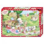 Noris-6060-38056 2 Jigsaw Puzzles - Lillebi