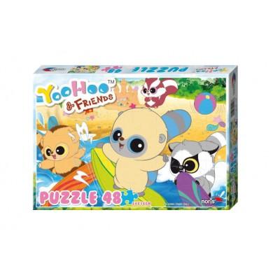 Puzzle Noris-606031128 Yoohoo & Friends