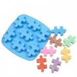 Silicone Mold for Ice Cube or Cake - Puzzle