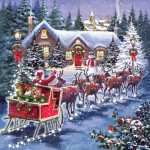 Puzzle  Otter-House-Puzzle-74142 Santa's Sleigh