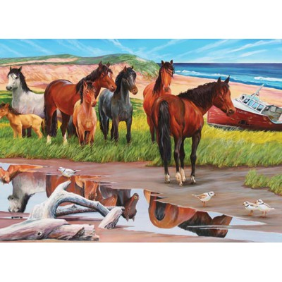 Puzzle Cobble-Hill-50701 Sable Island