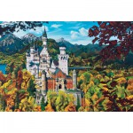 Puzzle  Cobble-Hill-50707 Neuschwanstein Castle