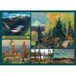 Puzzle  Cobble-Hill-51012 Franklin Carmichael - Collage - Carmichael Collection