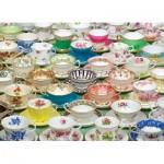 Puzzle  Cobble-Hill-51651 Teacups
