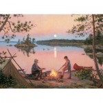 Puzzle  Cobble-Hill-51663 Lee Stroncek : Georgian Bay Moonrise
