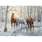 Puzzle  Cobble-Hill-51671 Persis Clayton Weirs : Winter Trio