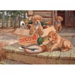 Puzzle  Cobble-Hill-51673 Jim Lamb : Doggie Decoys
