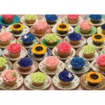 Puzzle  Cobble-Hill-51682 Cupcakes and Saucers