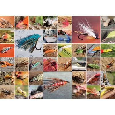 Puzzle Cobble-Hill-51686 Flies