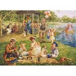 Puzzle  Cobble-Hill-51705 Lee Dubin : Family Picnic