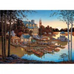 Puzzle  Cobble-Hill-51713 William A S Kreutz : Edgewood Resort