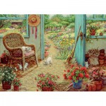 Puzzle  Cobble-Hill-51715 Janet Kruskamp : The Potting Shed