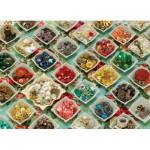 Puzzle  Cobble-Hill-51728 Grandma's Buttons