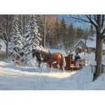 Puzzle  Cobble-Hill-51731 Douglas Laird : Sugar Shack Horses