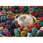 Puzzle  Cobble-Hill-51748 Fur Ball