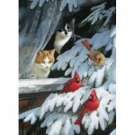 Puzzle  Cobble-Hill-51749 Persis Clayton Weirs : Bird Watchers
