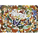 Puzzle  Cobble-Hill-51761 Butterflies