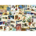 Puzzle  Cobble-Hill-51765 Victorian Greeting Cards