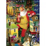 Puzzle  Cobble-Hill-51766-80077 Tom Newsom : Santa's Workshop
