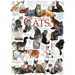 Puzzle  Cobble-Hill-51795-80095 Cat Quotes