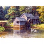 Puzzle  Cobble-Hill-51814 Luke Buck - Mabry Mill
