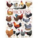 Puzzle  Cobble-Hill-51824 Ashley Davis - Chicken Quotes