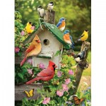 Puzzle  Cobble-Hill-51832-80126 Summer Birdhouse