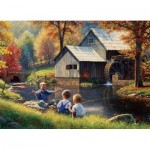 Puzzle  Cobble-Hill-51835-80129 Mark Keathley: Fishy Story