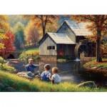 Puzzle  Cobble-Hill-51835 Mark Keathley: Fishy Story