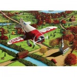Puzzle  Cobble-Hill-51848 Mike Bennett: Gee Bee Over New England