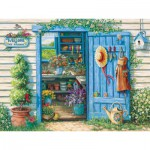 Puzzle  Cobble-Hill-52049 XXL Jigsaw Pieces - Janet Kruskamp : Welcome to My Garden