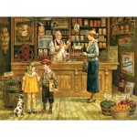 Puzzle  Cobble-Hill-52057 XXL Jigsaw Pieces - Lee Dubin : The Grocery Store