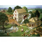 Puzzle  Cobble-Hill-52066 XXL Jigsaw Pieces - Charlotte Joan Sternberg : Four Star Mill