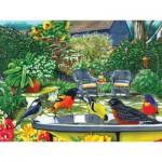 Puzzle  Cobble-Hill-52079 XXL Jigsaw Pieces - Bird Bath