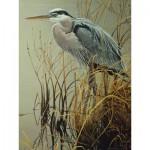 Puzzle  Cobble-Hill-52081 XXL Jigsaw Pieces - Robert Bateman : Great Blue Heron