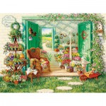 Puzzle  Cobble-Hill-52088 XXL Jigsaw Pieces - The Blossom Shoppe