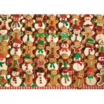 Puzzle  Cobble-Hill-52098 XXL Pieces - Christmas Bakesale